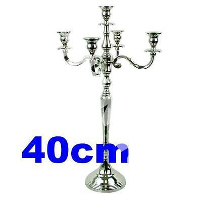 Kerzenleuchter Kerzenhalter Armleuchter 5-armig Armleuchter 40cm TOP