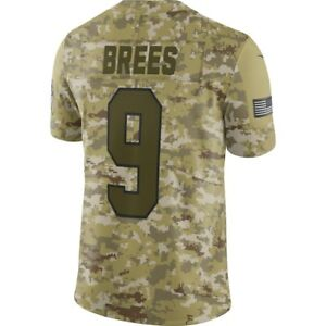 best sneakers 083fd bf83a Details about DREW BREES 2018 SALUTE TO SERVICE JERSEY SAINTS NIKE - 100%  AUTHENTIC - MENS 3XL