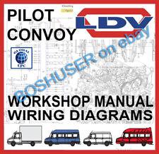 ldv convoy workshop service manuals wiring diagrams on cd main rh ebay co uk Electric Motor Starters Wiring Schematics 3 Phase Motor Wiring Schematic for Starter
