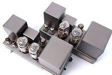 Quad Set II 22 Röhren Mono Endstufen serviced lacquered Control Unit Pre-amp