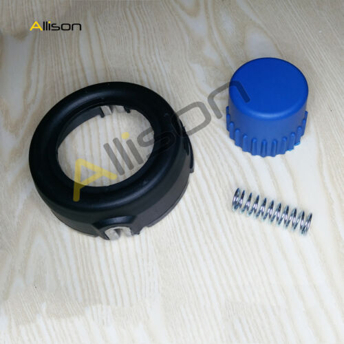 Trimmer Head Cover /& Bouton Spring HUSQVARNA T35 544044402 537185801 537186001