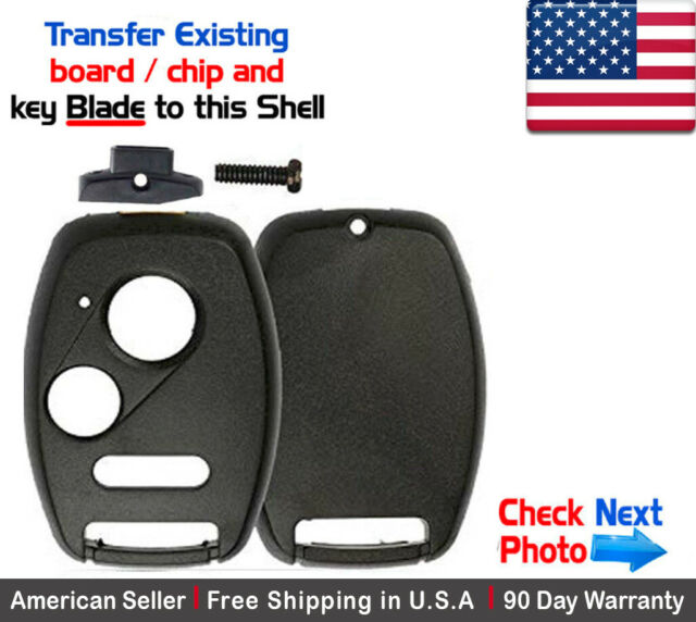 1x New Replacement Keyless Key Fob For Honda & Acura