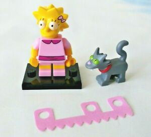 LISA WITH SNOWBALL CAT 2 LEGO 71009 The Simpsons Series 2 Minifigures
