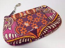 Vera Bradley Safari Sunset Zip ID Card Holder Coin Purse Wallet