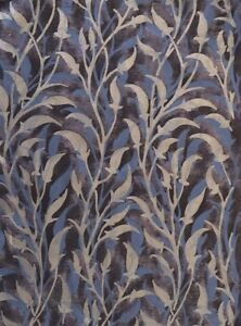 FORTUNY FABRIC Orfeo Silver Midnight Blue Black New Cotton Venice Italy
