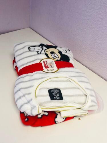 Disney Soft Fleece Pyjama Set Winter Cosy PJ/'s Nightwear Primark Xmas Gift PK