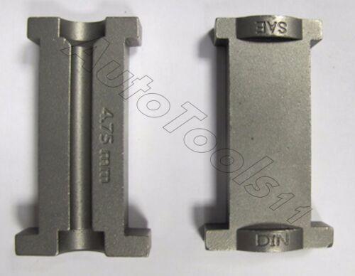 Flaremaster2 4.75mm 3//16 Flare Die Block Set DIN SAE Sykes Pickavant 02720470