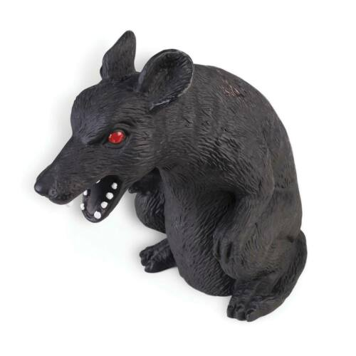 NEW Themed   Animals Possesed Black Rat
