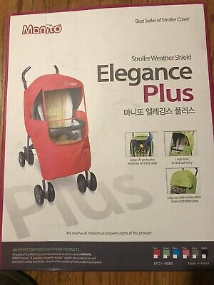 Manito Elegance Plus Stroller Weather Shield Rain Cover Windproof Water Sun