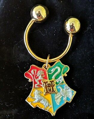 New Official Noble Harry Potter Ravenclaw House Crest Keyring