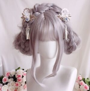 Women-039-s-Japanese-Sakura-Hairpin-Kimono-Yukata-Bride-Hair-Clip-Hair-Accessories