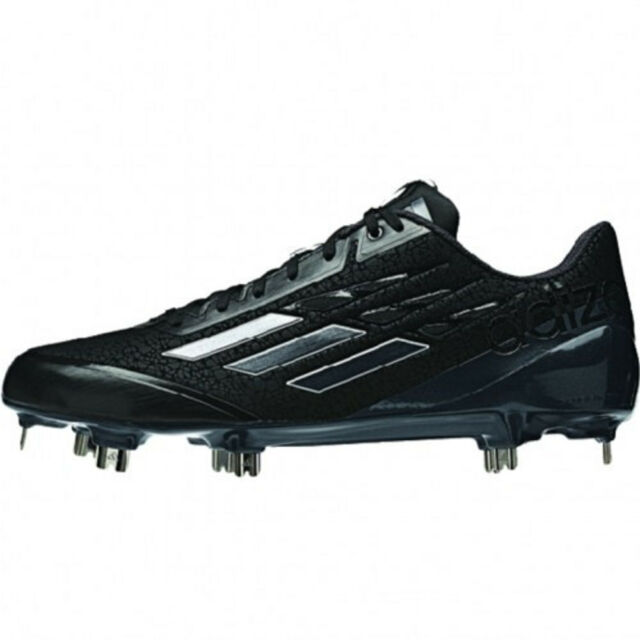 cbd30988a NEW Adidas Adizero Afterburner Baseball Metal Cleats Black Carbon - Choose  Size