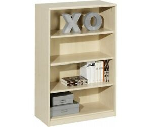 10 46 soft plus regal stauraumregal b cherregal holzregal ahorn ca 110 cm hoch 4003944010469 ebay. Black Bedroom Furniture Sets. Home Design Ideas