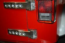 Jeep Wrangler JK JKU Billet Aluminum Tailgate Hinges 2007-2016 Clear anodized