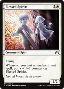 4 BLESSED SPIRITS ~mtg NM Origins Unc x4