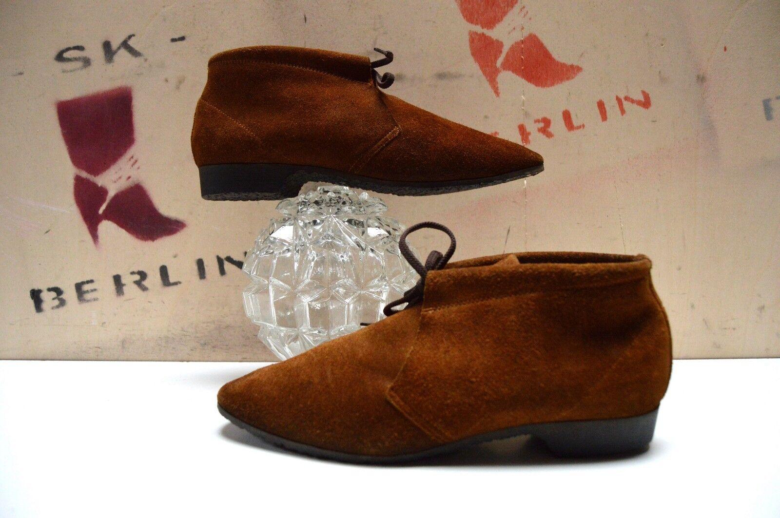Lace Up shoes Loafers la vostra AMICA UK 6  Ankle shoes 39 True Vintage