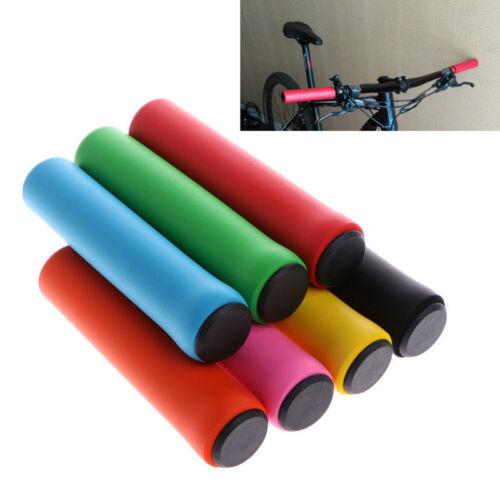 2x Ultra Light Silicone Bike Grips Cycling MTB Bicycle Handlebar Anti-slip Grip