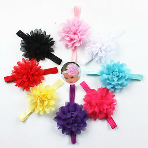 Kids-Girl-Baby-Toddler-Flower-Headband-Hair-Band-Accessories-Headwear-IO
