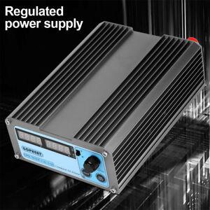 Mini-Labornetzgeraet-Labornetzteil-Netzteil-DC-Regelbar-Stabilisiert-0-16V-0-10A
