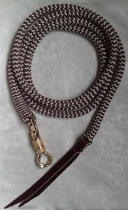 22ft Lead Rope with Brass Snap Natural Horsemanship