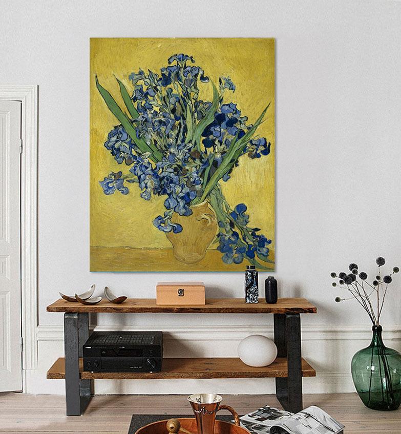 3D Viele bluee Blüten 376 Wandbild Fototapete Bild Tapete Familie AJSTORE DE