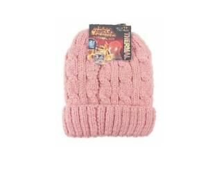 dfe59a005 Details about Ladies Heated Hat Thermal Cap Insulated Lined Interior To  Keep Heat In Beanie