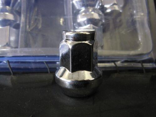 3//8x24 Tapered CHROME Steel 14mm Hex ATV UTV Lug Nuts Lug Nut Kit x16