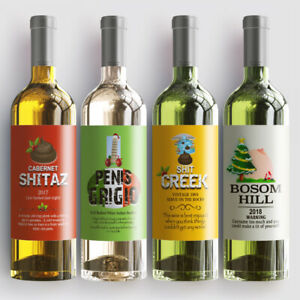 4-noel-drole-fun-bouteille-vin-sticky-labels-fete-d-039-anniversaire-cadeau-etanche