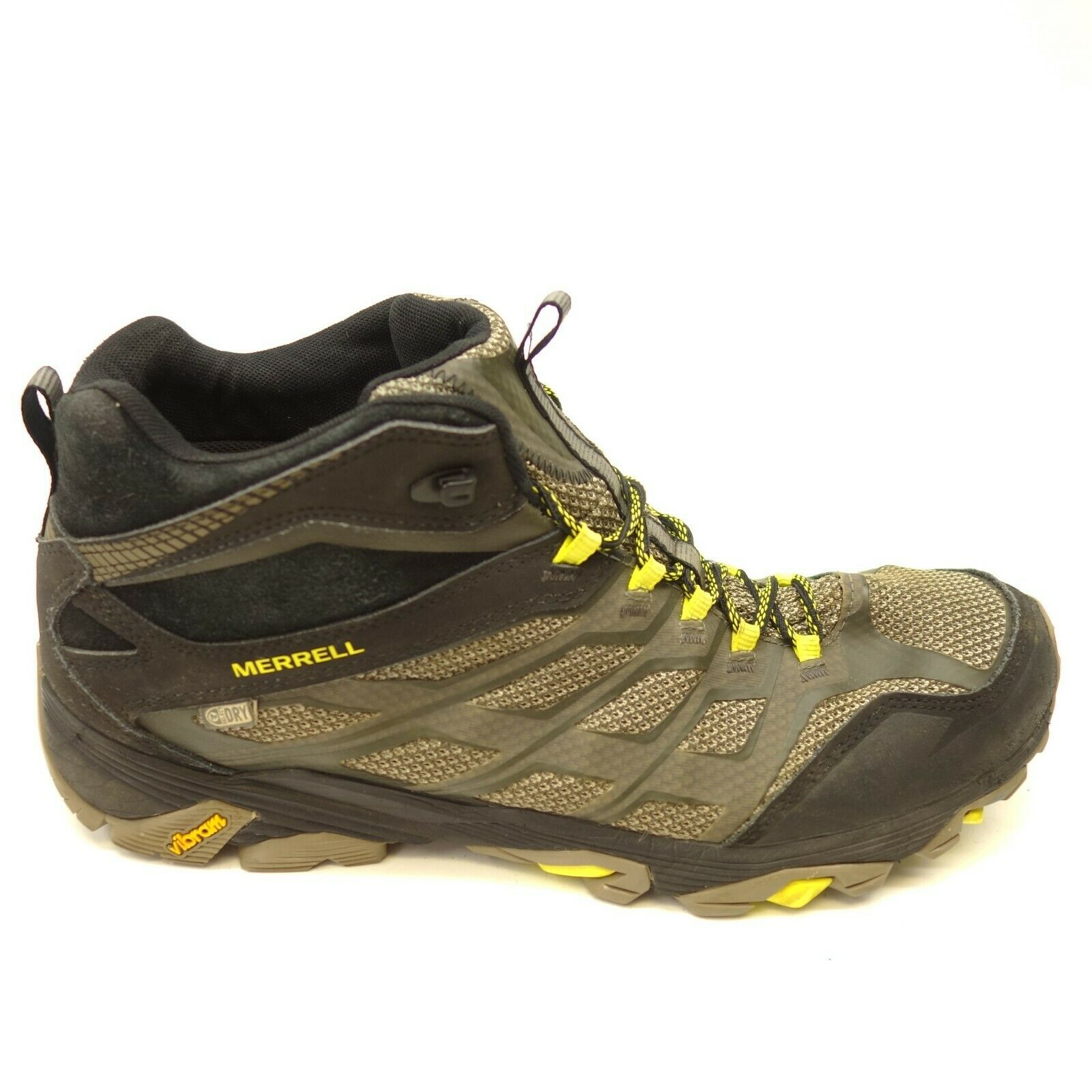 Merrell Moab FST Mid US 14 Athletic Hiking Mountain Trail Mens shoes