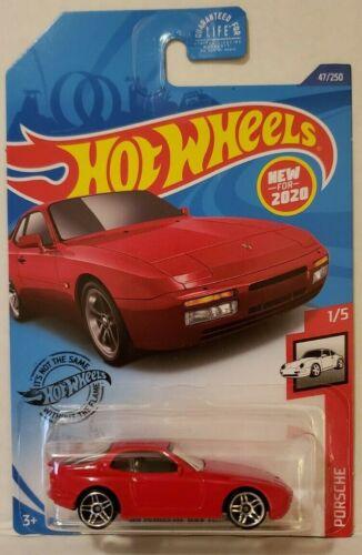 2020 Hot Wheels #47 Red 89 Porsche 944 Turbo