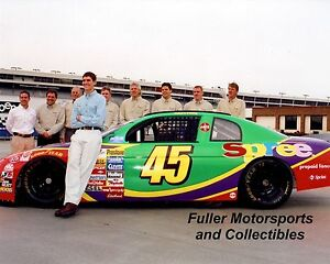 Details About ADAM PETTY POSE 1999 45 SPREE CHEVY UNPUBLISHED 8X10 PHOTO NASCAR BUSCH SERIES