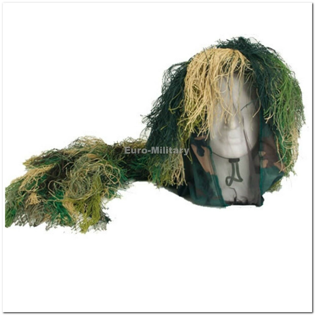 Camouflage Bush HeadGear Sniper Hat Camo - Brand New - Water and Fire Proof