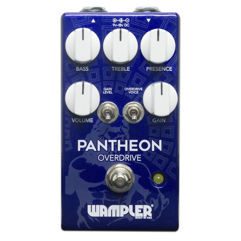 Wampler pedal Pantheon Drive pedal Wampler distorsión nuevo New 2eed61