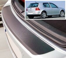 VW GOLF 3/5 PORTE MK4 - carbonio stile PARAURTI POSTERIORE protettore