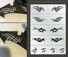 EVIL ELVEN TRIBAL VINYL SELF ADHESIVE AIRBRUSH STENCIL WARGAMING FALLOUT HOBBIES