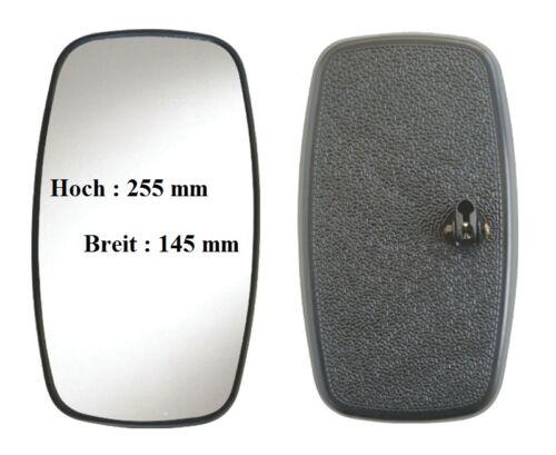 Außenspiegel Rückspiegel Traktor Pritsch Truck Landmaschinen LKW 255x145mm ø20mm