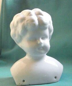 "1880s Victorian Germany High Safety Sunny China Head Glazed 3.87"""