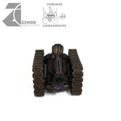 Costante Zinge Industries Steampunk Rintracciati Piattaforme Mobili Pistola + Pistole X3 S-art10 B-mostra Il Titolo Originale