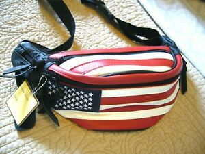 Retro Mexican American Flag Sport Waist Pack Fanny Pack Adjustable For Travel