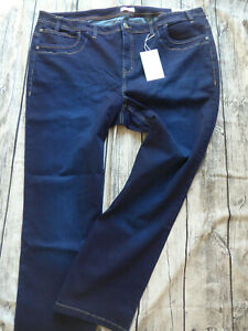 Sheego-Jeans-Trousers-Ladies-Stretch-Size-48-to-58-Blue-Bue-497
