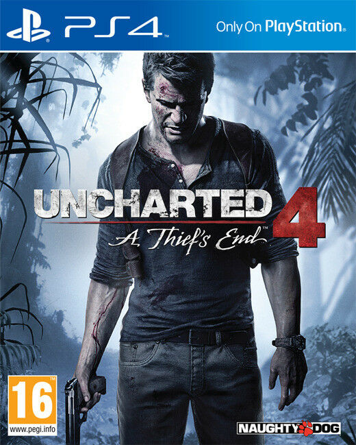 PS4 Uncharted 4: A Thiefs End