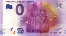 67 STRASBOURG Cathédrale, 2016, Billet 0 € Souvenir