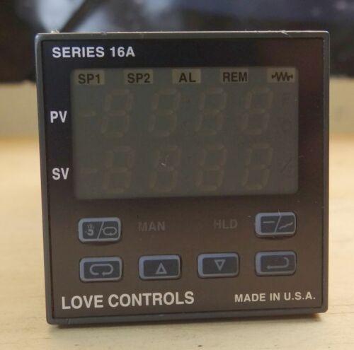 Dwyer Love Controls 16A Temperature//Process Controller 16A3120-993-9502-90*048A