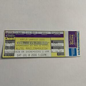 Mary J Blige Alltel Pavilion Raleigh NC Concert Ticket Stub Vintage July 2000