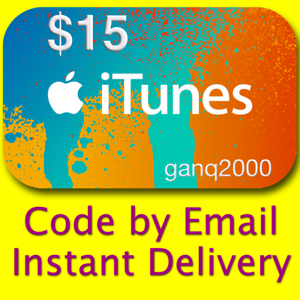 15-APPLE-US-iTunes-GIFT-CARD-voucher-certificate-FAST-USA-Store-100-Genuine