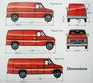 67c16eedd7b3 Image is loading 1983-FORD-ECONOLINE-Van-Brochure-with-Color-Chart-