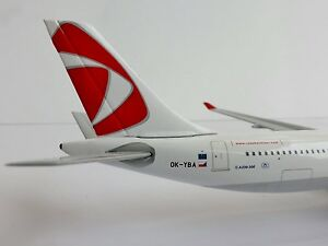 Csa-Czech-Airlines-Airbus-A330-300-1-500-Herpa-524520-A330A-330-Nuevo-Colores