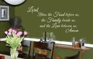 Lord-Bless-the-Food-vinyl-lettering-wall-decal-sticker-faith-dining-area-kitchen