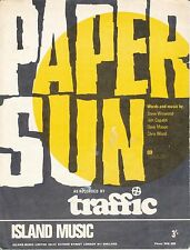 Papel Sun-Traffic - 1967 Partituras