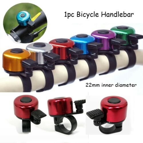 Alloy Cycling Bicycle Handlebar  Horn Sound Alarm Metal Ring Safety Bike Bell